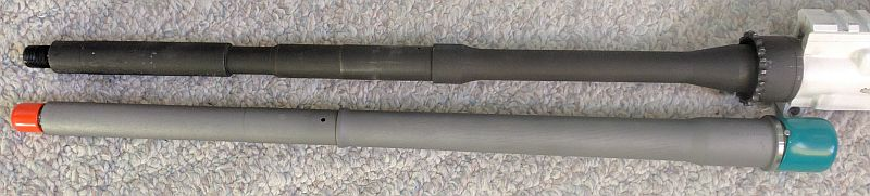 Adriel's new AR15 barrel